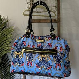 XL Betsey Johnson Satin Travel Bag RARE HTF